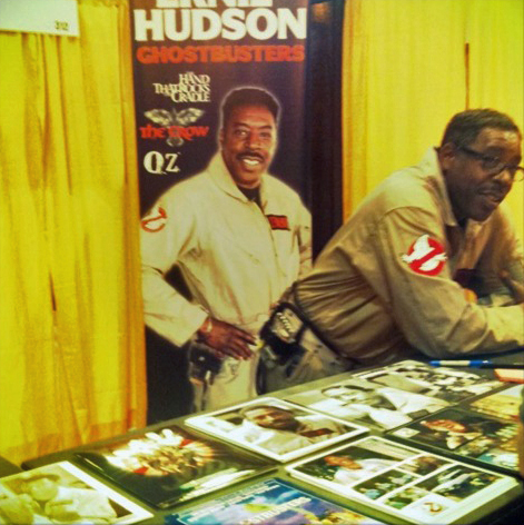 Ernie Hudson Sodomized By Poster Of Himself