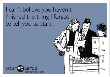 Your Ecards Birthday Funny ~ Projectmanagement project management in some ecards