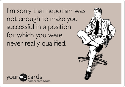nepotism solutions