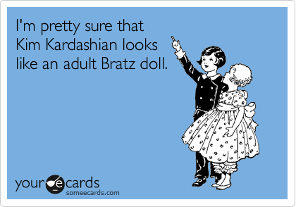 kim kardashian and bratz