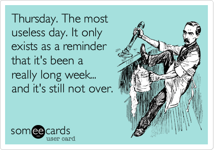 thursday funny ecards