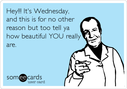 it s wednesday ecard